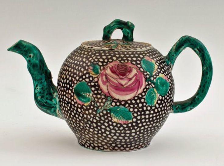 Staffordshire Teapot c. 1755.