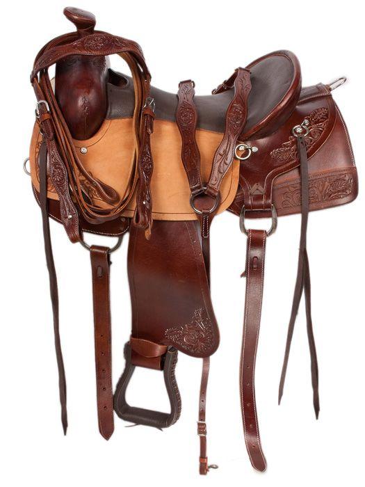 15 Best Ranch Work Saddles ☕ Images On Pinterest English