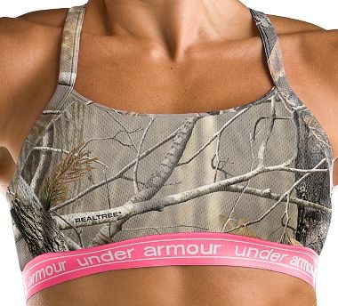 bra: Under Armour Sports Bra, This Is Awesome, Pink Camo, Sports Bras, Camo Bra, Sport Bras, Under Armour Camo, Camo Sports, Underarmour