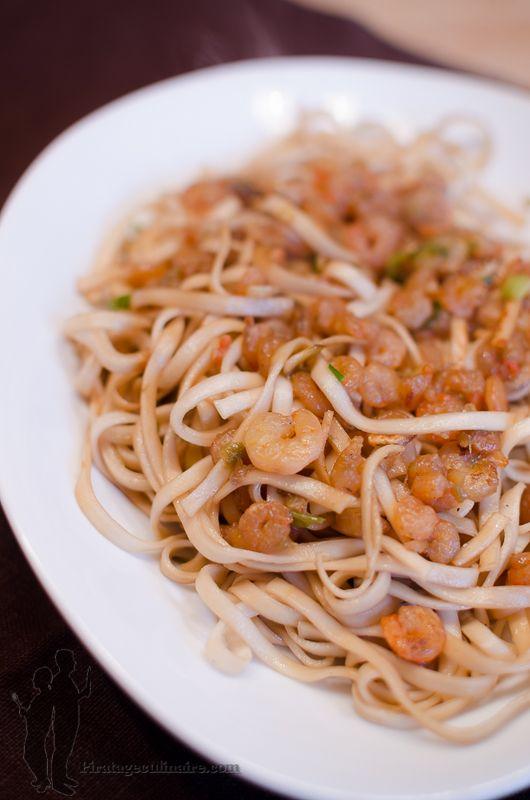 Nouilles Sautées aux crevettes teriyaki | Piratage Culinaire