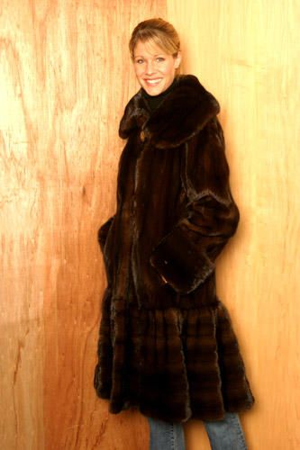 Only the finest North American pelts - a custom tailored fur coat, made to measure in Toronto at the Yukon Fur Co. Ltd. - http://yukonfur.com