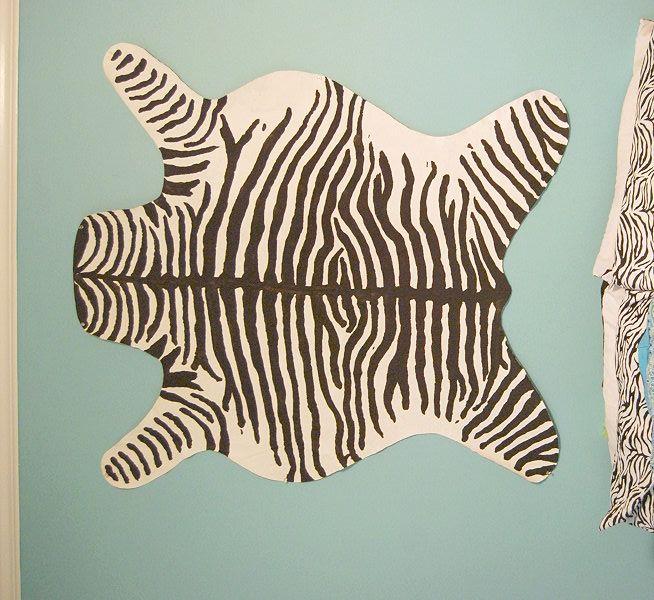 37 Best Zebra Skin Carpet Images On Pinterest