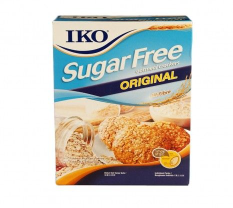 Iko Sugar Free Original Oatmeal Cracker 178G at Rs.150 online with shipping in India.