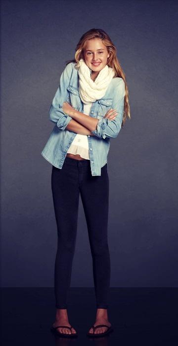 #Abercrombie | Girls Weekend Bonfire  fashion teen #2dayslook #new style #teenfashion  www.2dayslook.com