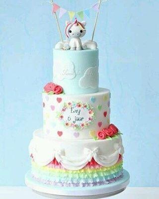 "68 Likes, 1 Comments - Meu Arco-íris de Unicórnio (@meuarcoirisdeunicornio) on Instagram: ""Doçura de bolo ~  #cake #bolo #aniversario #unicorn #unicórnio #unicornio #unicornparty…"""
