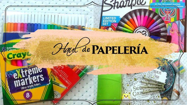 HAUL DE PAPELERÍA | COMPRAS POR ALIEXPRESS #materialescolar #regresoaclases