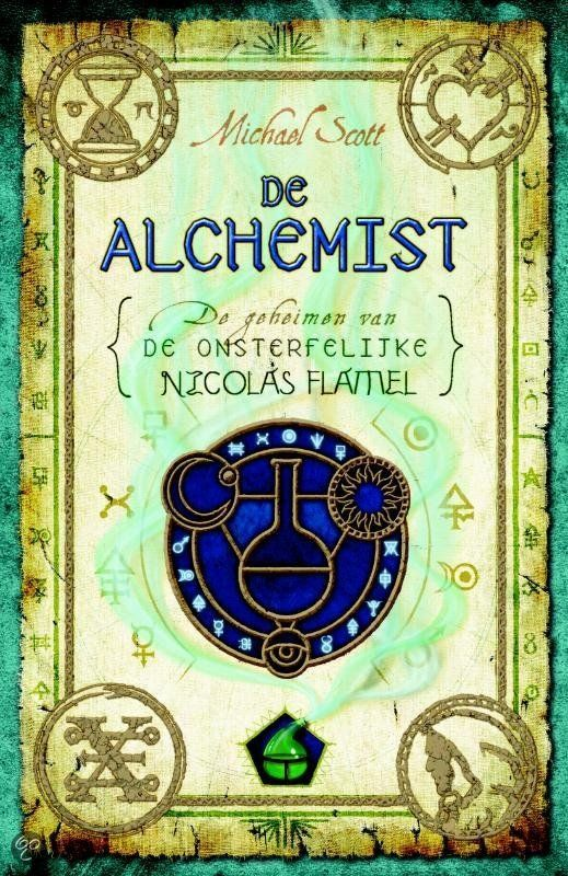 Michael Scott - De Alchemist (De geheimen van de onsterfelijke Nicholas Flamel 1) || Een Amerikaanse tweeling van 15 jaar probeert te voorkomen dat een alchemist met slechte bedoelingen met de inhoud van een gestolen boek de wereld kan vernietigen. || http://www.bol.com/nl/p/de-alchemist/1001004011809105/#