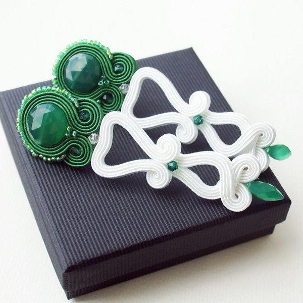Brautschmuck - Grüne Onyx - ein Designerstück von Moniq-Monika bei DaWanda