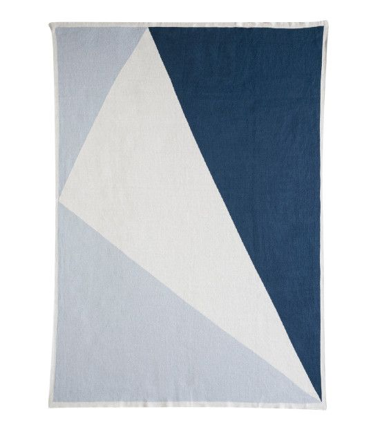The Love Letter X Large Blanket Illusion Blue/Snow White/Poseidon Find it here: http://kateandkate.com.au/shop/blankets/love-letter-x-large-blanket-illusion-blue-snow-white-poseidon/