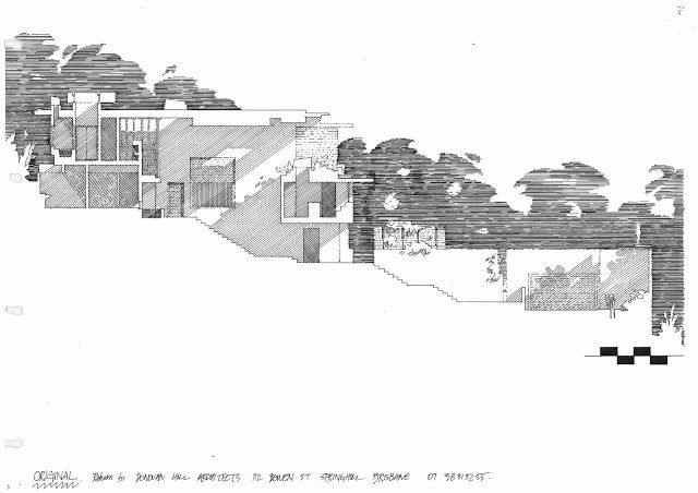 Section of C House - Donovan Hill