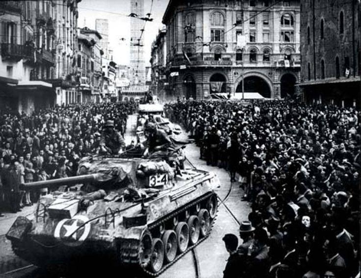 25 aprile 2014, 69 anni fa la liberazione dell'Italia - Corriere.it la liberazione di Bologna