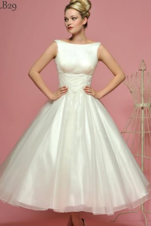 50s Style Wedding Dress J Adore