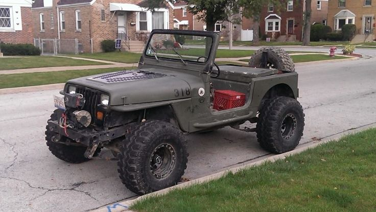 Best Year For Jeep Wrangler >> Stripped-down, bare bones military style Jeep. (Might want ...