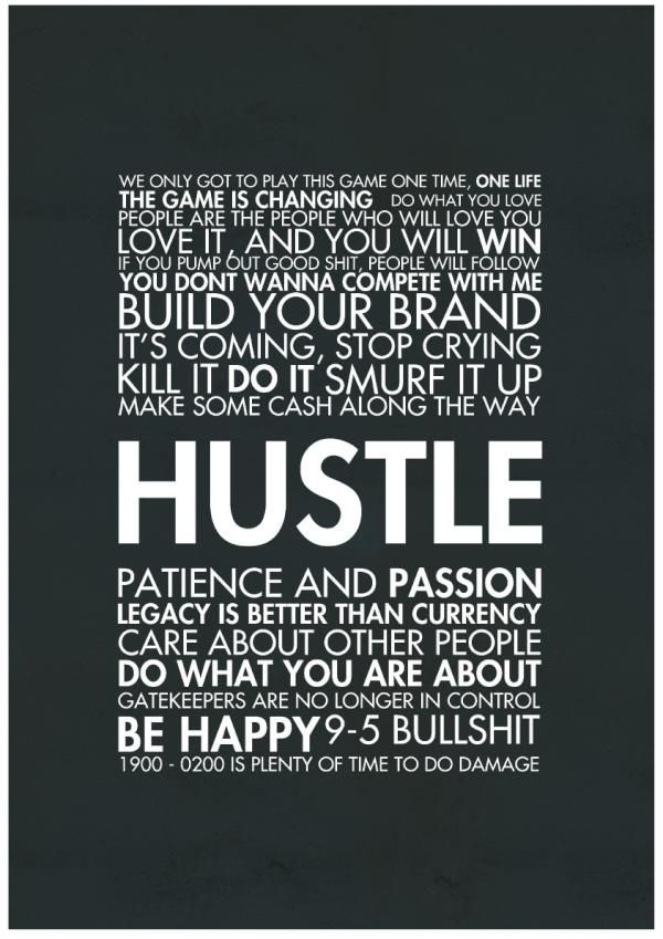 HUSTLE – everything said by Gary Vaynerchuk: Life Quotes, Motivation Quotes About Win, Business Inspiration Quotes, Hustle Quotes, Quotes About Business, Hustle Hard, Word, Quotes About Hustle, Entrepreneur Inspiration
