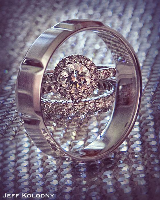 Cool Wedding Ring Photography - Unique wedding ring photos! - Jeff Kolodny Photography Blog - South Florida Wedding Photographer