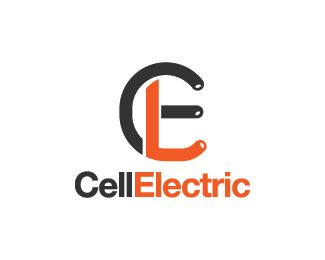 Cell Electric Logo design - Logo design of the letter C and E.  Price $250.00