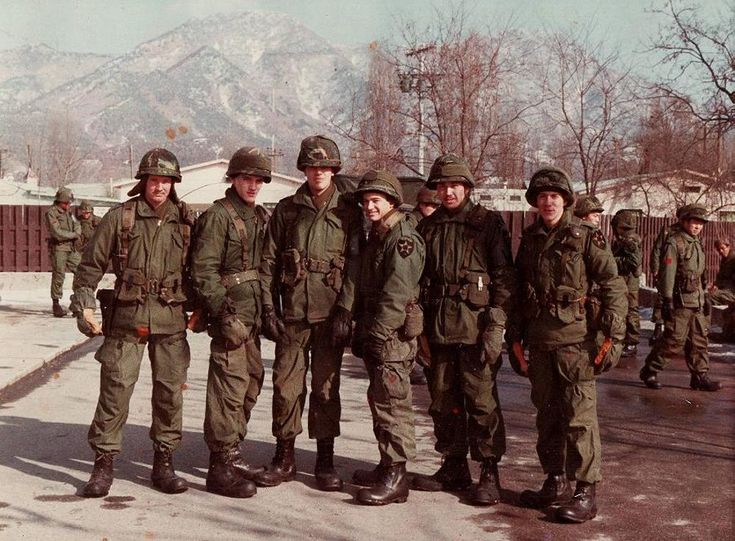 Mp 39 s from the us 2nd infantry division in korea 1980 for Bureau 38 north korea