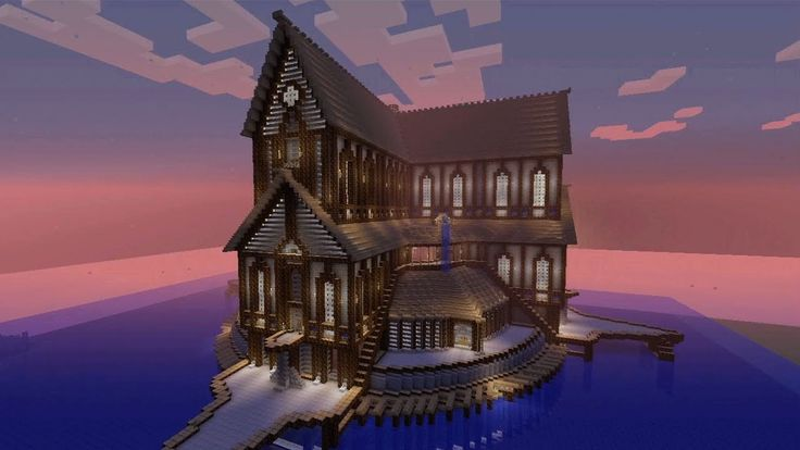 Minecraft Lake House