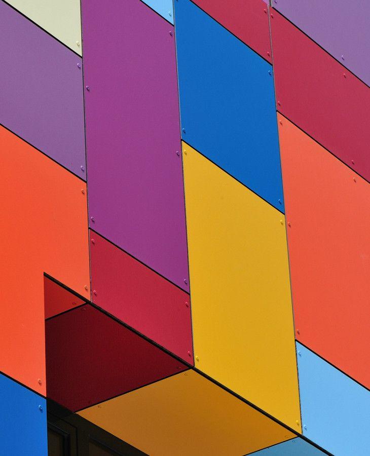 Opaque plastic laminate wall panel TRESPA® METEON® by TRESPA INTERNATIONAL #colour