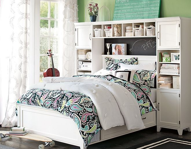 i love the pbteen hampton lola bedroom on my style pinterest storage beds pb. Black Bedroom Furniture Sets. Home Design Ideas