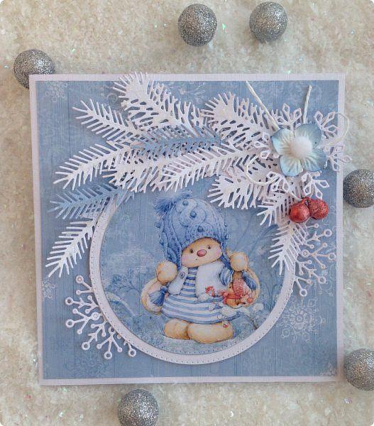 Открытка Новый год Аппликация Новогодние открытки 2016  3 Бумага фото 1