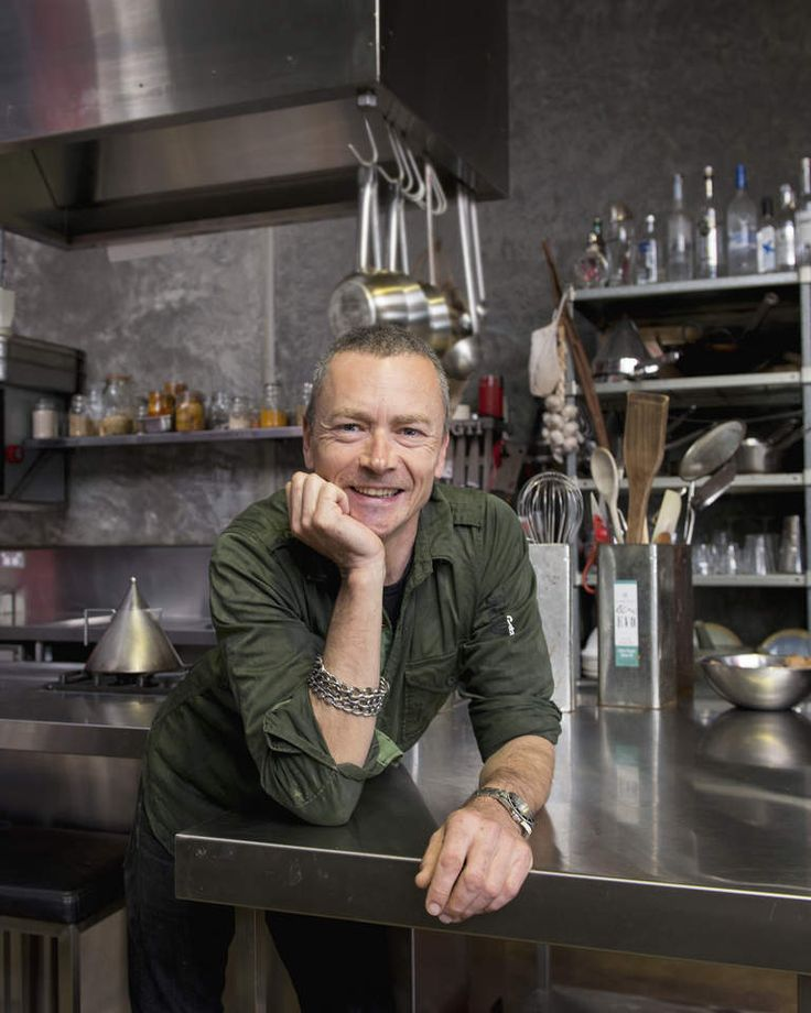 Simon Bryant in his kitchen at Brompton in Adelaide.