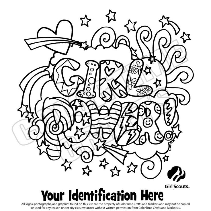 girl scout coloring pages brownie - photo#6