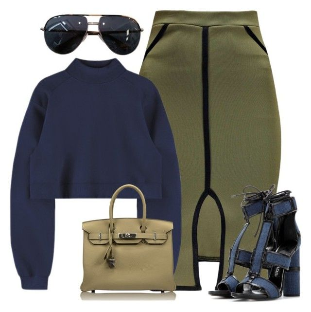 Untitled #1777 by siedahsimmons on Polyvore featuring polyvore fashion style Tom Ford Hermès clothing