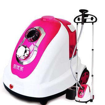 โปรโมชั่น Hot item Best Garment Steamers เครื่องรีดไอน้ำถนอมผ้าแนวตั้งคุณภาพสูง แบบ 2 เสา (Pink) ราคาถูก ชำระเงินปลายทาง  #GarmentSteamer #Steamer #เตารีดไอน้ำ