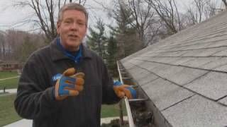 How to Clean Rain Gutters and Downspouts--for first time home owners this is very useful.