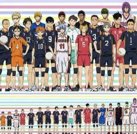 Kuroko no Basket | Haikyuu. AND MY MAN THE PURPLE GIANT WINS !!!!!