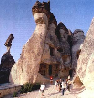 Cappadocia / Turkey: Volcanic Rocks, Rocks Formations, Cappadocia Turkey, National Parks, Europe Travel, Places, Cappadocia Fairies, Fairies Caves, Travel Turkey City Cappadocia
