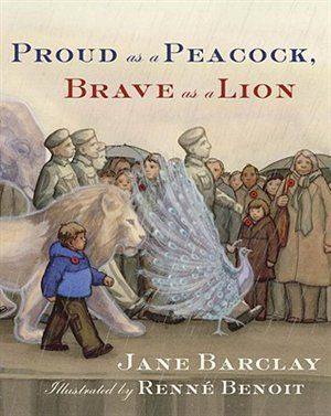 Proud as a Peacock, Brave as a Lion has relevance to a growing number of families, as new waves of soldiers leave home. Winner of the Ruth & Sylvia Schwartz award