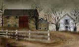 Old Stone Barn Country Framed Art by Billy Jacobs 13x16 16x22