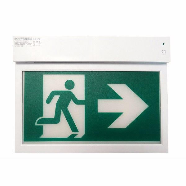 Je-esa10 Led Exit Sign Ce Approval Led Emergency Light Double Sides Faces+30m Viewing Distance Led Exit Sign - Buy Led Exit Sign,Led Emergency Light,Cheap Emergency Lights Product on Alibaba.com