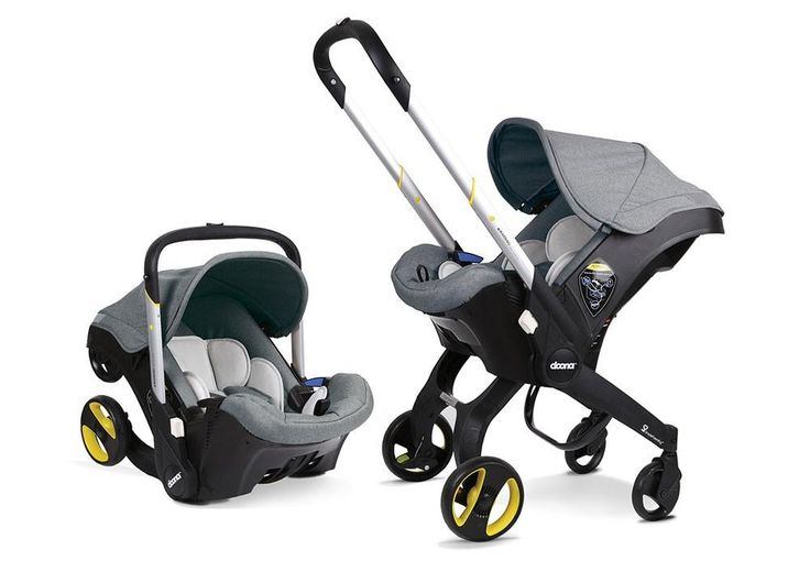 DOONA INFANT CAR SEAT STROLLER W/ LATCH BASE