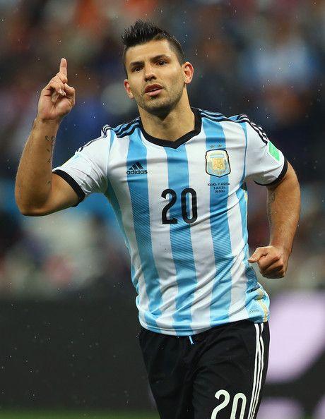 Sergio Aguero Photos: Netherlands v Argentina