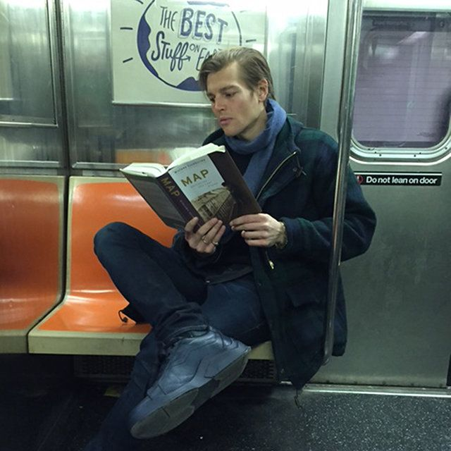 Hot Dudes Reading spring books MAP