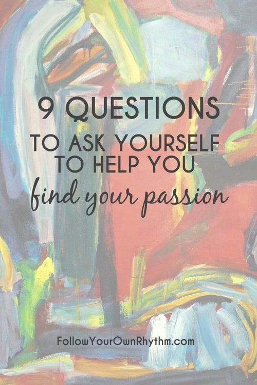 9 Questions to Ask Yourself to Help You Find Your Passion. If you are feeling stuck or don't know what to do with your life, then here are 9 questions you can ask yourself to help you find your passion. Comes with free worksheet. --personal growth, passion, dreams, purpose, life purpose, life goals, career, profession, fulfillment, happiness, questionnaire, free worksheet