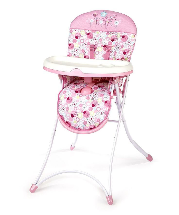 Bright Starts Pink High Chair