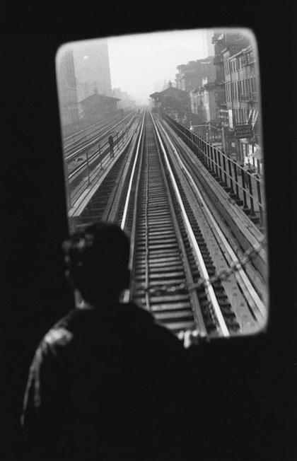 Elliott Erwitt | 3rd Avenue El, Manhattan, 1955