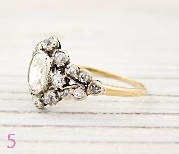 Vintage gold band wedding ring. Maybe rose or white gold instead...