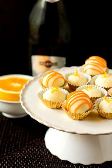 Mimosa Truffles: Chocolates Truffles, White Chocolates, Creamy White ...