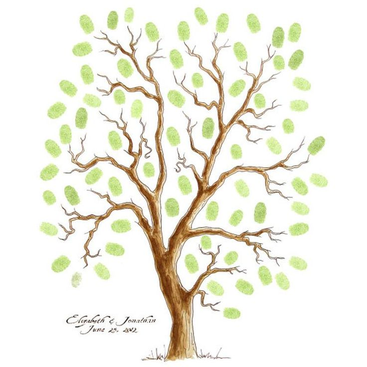Extra Large Oak Thumbprint Guest Book Tree 26x20 Customized: 25+ Beste Ideeën Over Bruiloft Vingerafdruk Boom Op