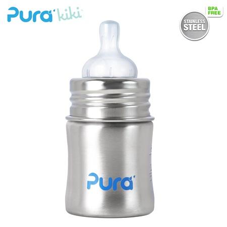 his next bottle will be plasticfree! Pura Kiki Trinkflasche 150ml