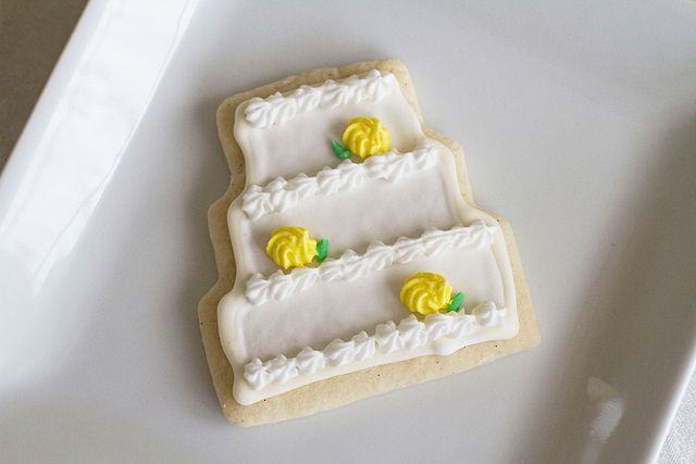 Decorated Wedding Cookies - 3 by Sugarcrafter, via Flickr