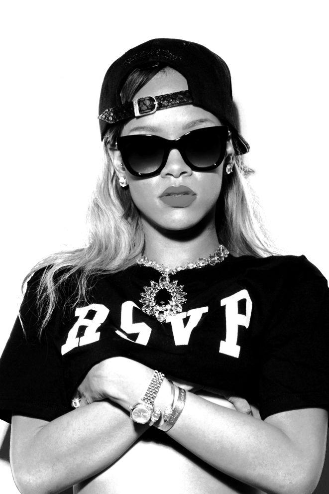 E para esta semana inspiração internacional ✔ Rihanna! #domingoO