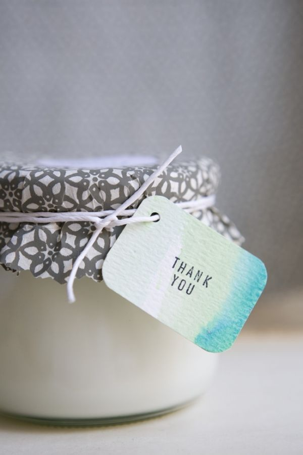 DIY Soy Candle Favors