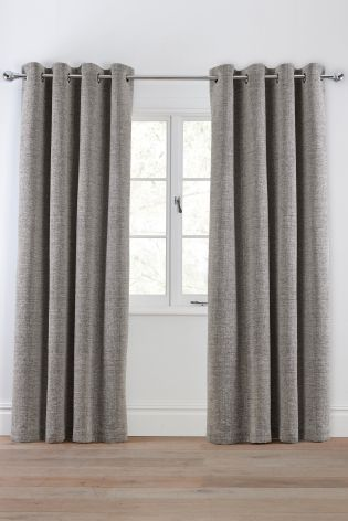 Textured Chenille Curtains from Next