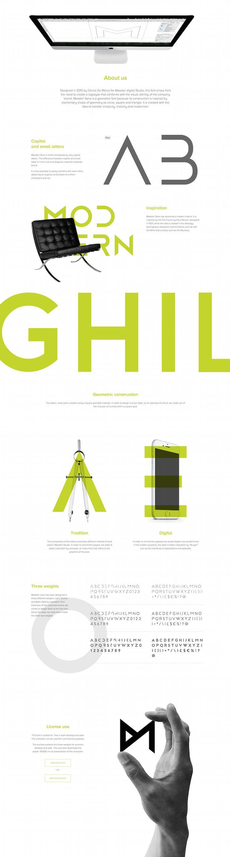[무료] 모더니즘 개성 돋는 독특한 브랜드 디자인 폰트 Meedori Sans :: 디자인 로그(DESIGN LOG)
